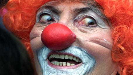 People dressed as clowns are causing a stir in California's San Joaquin Valley.