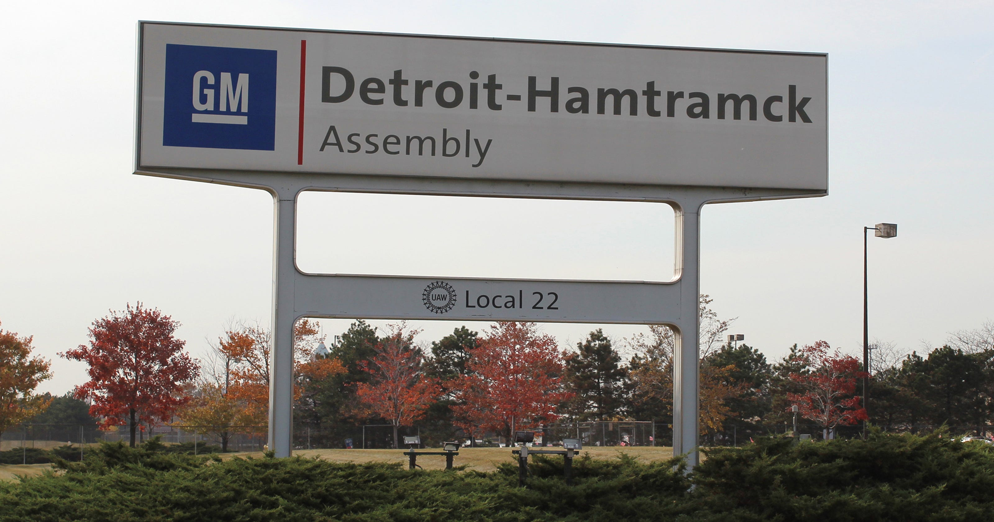 Image result for photos of General Motors' Detroit-Hamtramck plant i