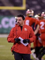 Non-Public Group 4 state football final at MetLife Stadium in East Rutherford, on Friday, December 01, 2017.  BC Head Coach Nunzio Campanile.
