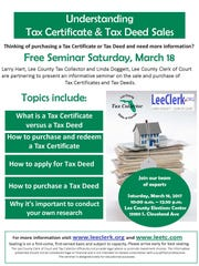 Learn more about deeds, certificates.