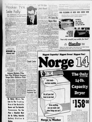 The Nov. 4, 1963, issue of The Tennessean