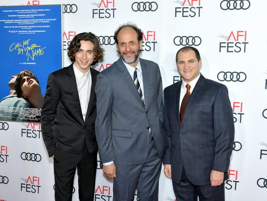 """AFI FEST 2017 Presented By Audi - Screening Of """"Call Me By Your Name"""" - Arrivals"""