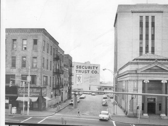 The old Security Trust Bank buildings at East Main