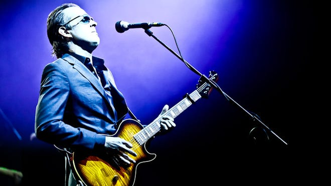 Joe Bonamassa will perform at the Ulster Performing Arts Center in Kingston on Tuesday.