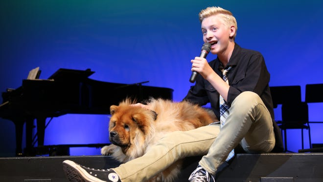 Tuacahn performers showcase their talents at the annual Mutts and Music event Aug. 13 to benefit the Ivins No Kill Animal Shelter.