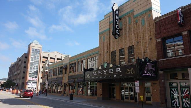 The Meyer Theatre, 117 S. Washington St.