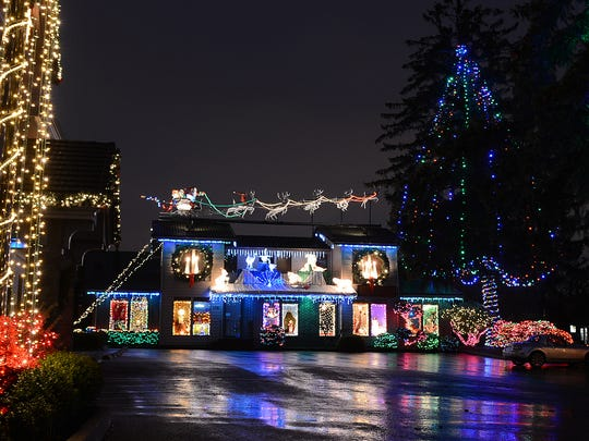Gatti & Gatti Law Office holiday Christmas light display will turn out for the season on Friday, Dec. 26.
