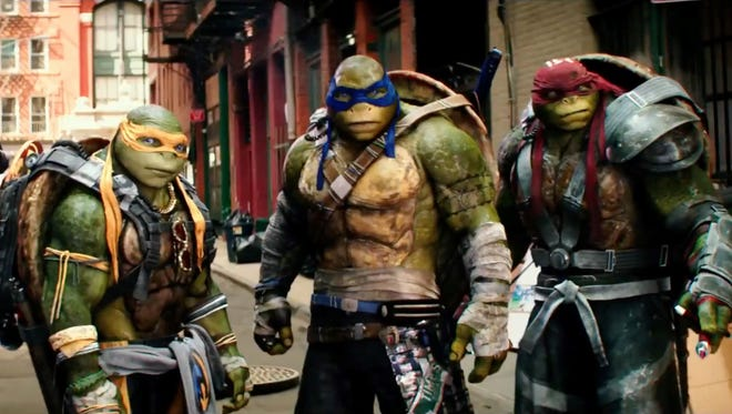"""The steroidal Ninja Turtles return in the awful """"Out of the Shadows."""""""