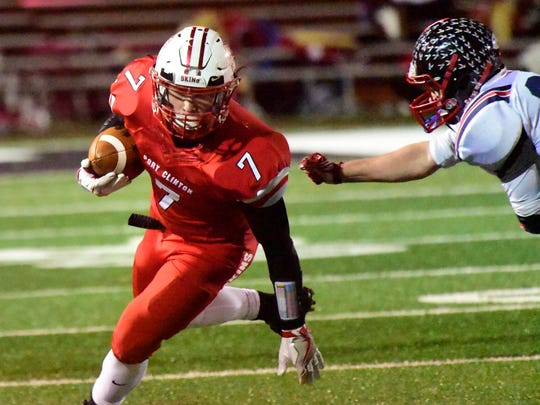 Port Clinton's Emerson Lowe was recognized first-team