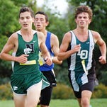 John Landy was Novi's top finisher in the James Cleverly Friday Night Invitational.