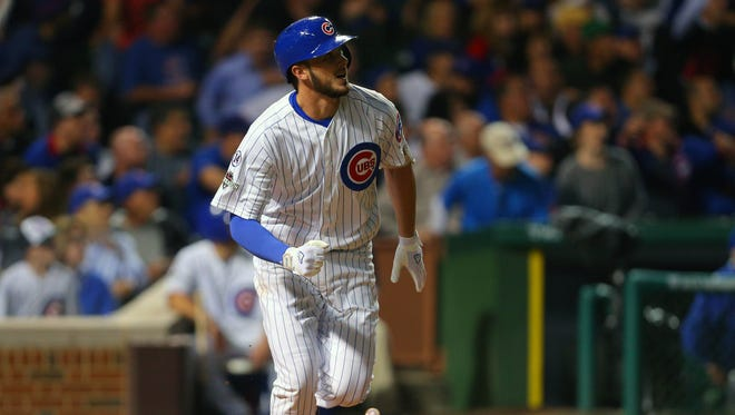 Kris Bryant won the NL Rookie of the Year award.