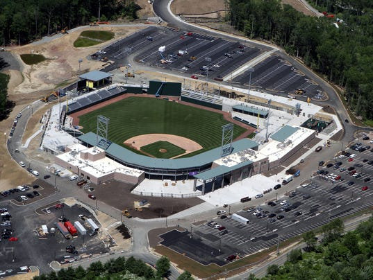 Provident Bank Park aerial photo