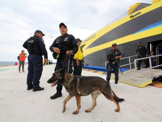 EPA MEXICO TOURISM POLICE CLJ POLICE MEX
