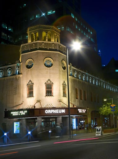 10/20-21, 10/29, 10/31: Orpheum Theatre Ghost Tours - Just in time for Halloween, the 60-minute tour of the Orpheum Theatre will feature stories of ghostly people who seem to still visit the theater, even after their deaths. The tour, which will include historically accurate facts about the theater, is hosted and sponsored by Phoenix Ghost Tours and The Friends of the Orpheum Theatre. | Details: 6, 6:30, 7, 7:30, 8, 8:30 and 9 p.m. Oct. 20-21 and 29 & 31. Orpheum Theatre, 203 W. Adams St., Phoenix. $25. orpheumghosttours.com.