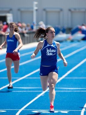 Indiana State sprinter Katie Wise
