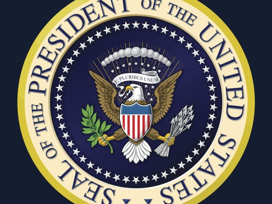 US Presidential Seal Color
