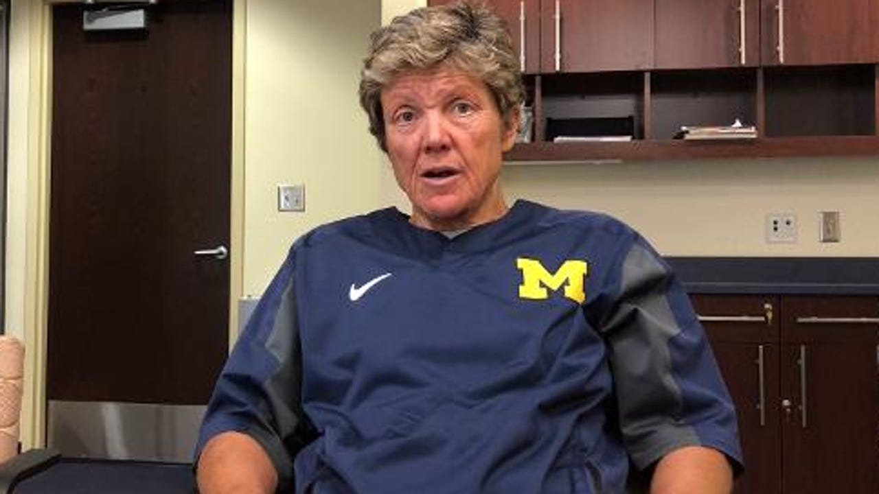 Michigan softball coach Carol Hutchins reflects on her team's loss to Michigan State in Big Ten tournament and the need to recapture the energy to compete in the NCAA Tournament.