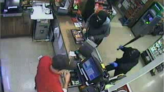 Police said two people robbed the Stewartstown Rutter's with a baseball bat on Dec. 16, 2015.