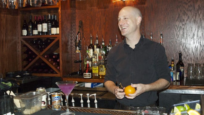 Jason Molaison has personal approach to serving drinks.