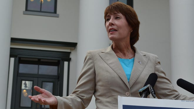 Rep. Gwen Graham, D-Tallahassee, defeated GOP incumbent Steve Southerland in 2014.