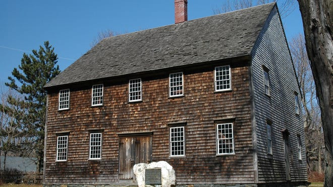Built in 1763, the Oblong Friends Meeting House on Quaker Hill in Pawling was commandeered by the Continental Army for use as a military hospital in September 1778. Because of their strong stance against war, the Quakers abandoned the building until the army left four months later.
