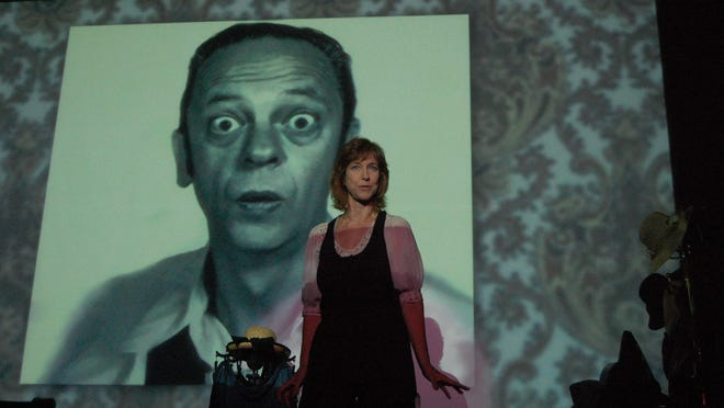 "Don Knotts, the late comic actor famous for his Emmy-winning performance as Deputy Barney Fife on ""The Andy Griffith Show,"" will be honored by his daughter, comedienne Karen Knotts, at the Bickford Theatre. Her one-woman show, ""Tied Up in Knotts,"" combines anecdotes and clips from her father's career."