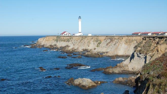 Pt. Arena Lighthouse along the Northern California Coast.