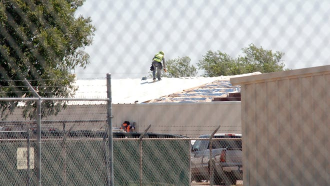 Officials said the Amarillo Animal Management & Welfare Department's observation facility is slated for completion in October.