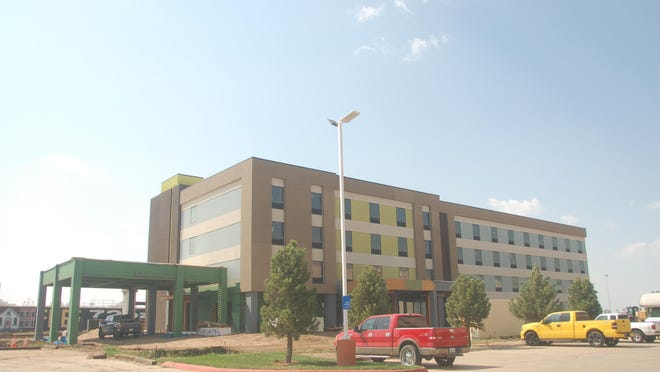 City officials said a Home2 Suites by Hilton currently under construction at 7775 Interstate 40 is among the TIRZ #2 projects.