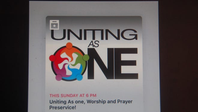 Uniting As One will be presented on Sunday evening, June 28, at 6 p.m. at the Potter County Courthouse.