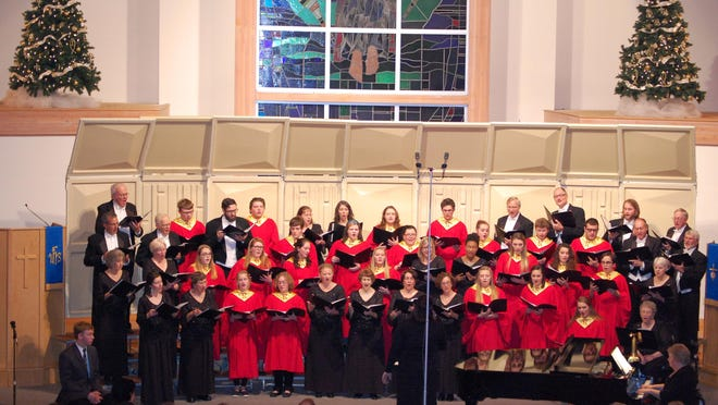 "The combined choirs of the Hillsdale Arts Chorale and the Reading High School Choir perform ""Hope for Resolution"" during a Christmas concert several years ago. This year's concert will be done virtually, resolving to go on despite the pandemic."