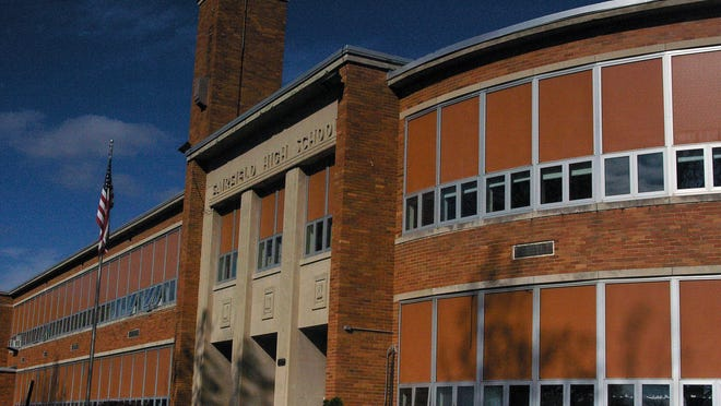 Fairfield educators are considering a plan to rebuild the Fairfield Freshman School on the same site as the senior high school. When the new school is built, this building – constructed in 1951 – would be demolished.