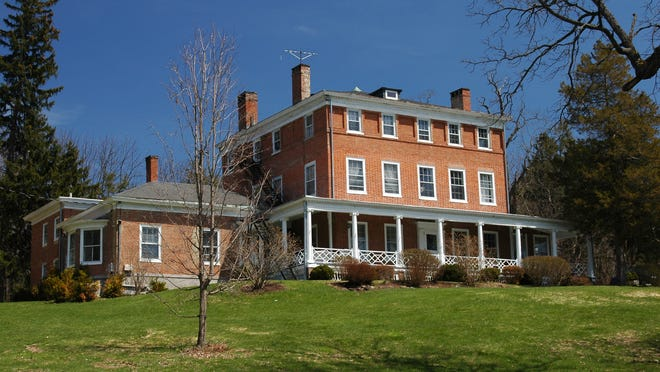 The 21-acre estate named The Grove was established by Philip J. Schuyler. It sits atop a hill along Miller Road in Rhinebeck.