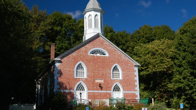 The Klyne Esopus Historical Society Museum, previously a church, stands on the west side of Route 9W in Ulster Park.
