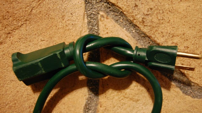 The handy square knot is a useful knot to know.