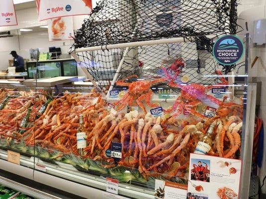 Hy-vee crab legs