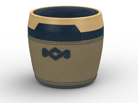 The Chant Mini portable speaker from the House of Marley is designed to look cool and eco-friendly.