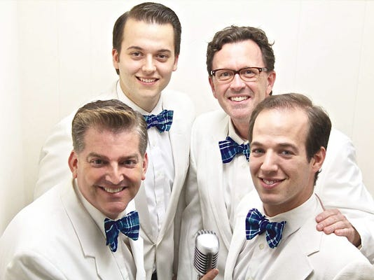 """The cast of Servant Stage Company's current production of """"Forever Plaid"""" will perform two songs at """"You've Got A Friend"""" Benefit Cabaret in Lancaster July 20. Proceeds from the event will go to Gamut Theatre Group in Harrisburg to replace vandalized sound equipment."""