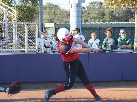 Kelsie Vincent HR Swing