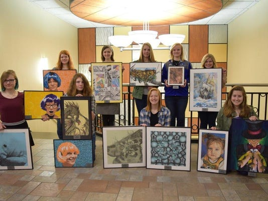 STAR Student talent art winners