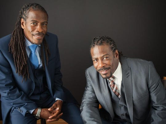 Al Mills and Nnamdi Chukwuocha, twins and the 17th poets laureate of Delaware.