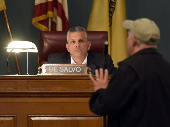 Rutherford Mayor Joe DeSalvo