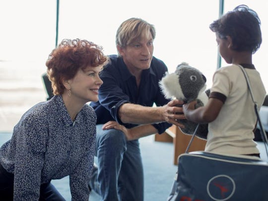 "Nicole Kidman, David Wenham and Sunny Pawar star in ""Lion."""