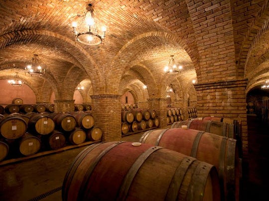 Visitors to the winery/castle are able to taste the wines that are only available at Castello di Amorosa, as well as tour the magnificent rooms.