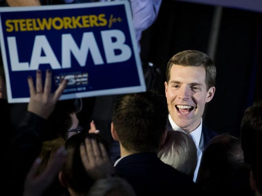 Democratic Congressional Candidate Conor Lamb Holds Election Night Event