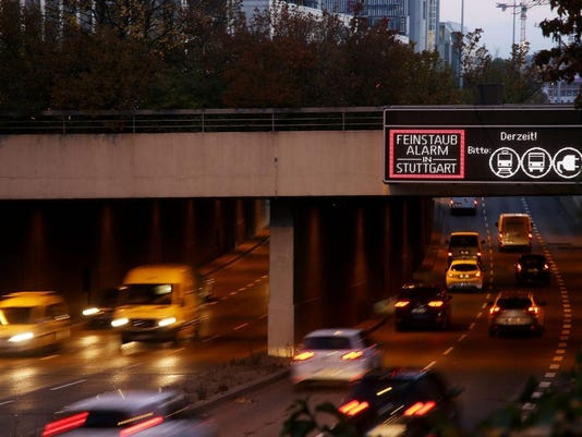 Stuttgart Calls Out Pollution Alarm