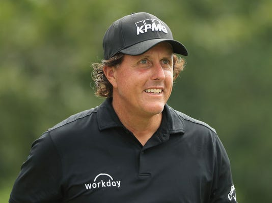 Phil Mickelson makes his case for Ryder Cup again with a closing 63 at TPC Boston