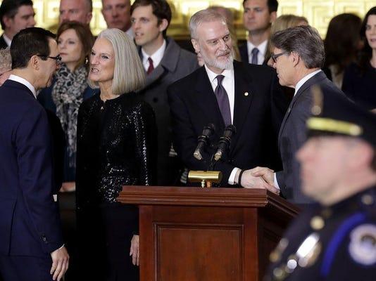 Rev. Billy Graham Lies In Honor In U.S. Capitol Rotunda
