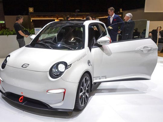 The new e.GO 'Life Sport' is presented during the press day at the '89th Geneva International Motor Show' in Geneva, Switzerland, Tuesday, March 05, 2019.