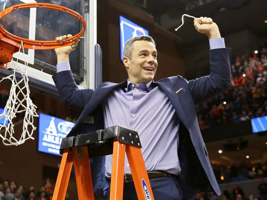 Virginia coach Tony Bennett